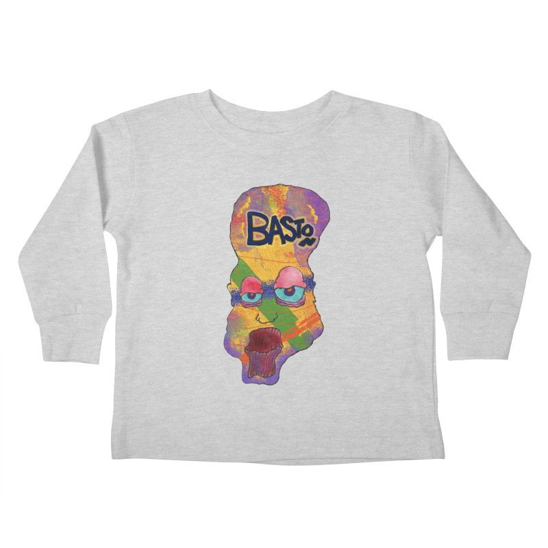 Big Head! Kids Toddler Longsleeve T-Shirt by Baston's T-Shirt Emporium!