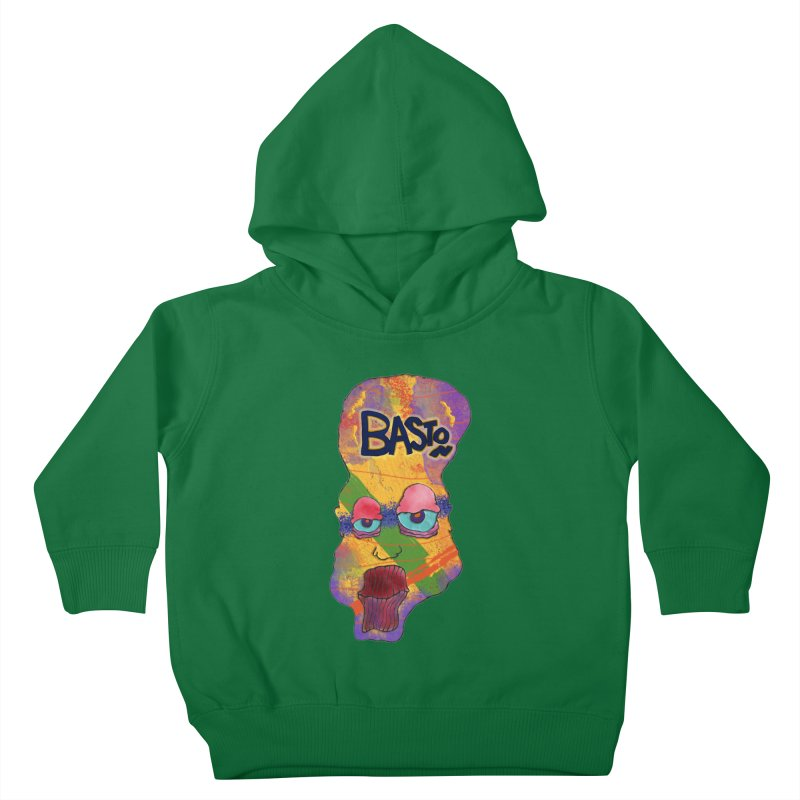 Big Head! Kids Toddler Pullover Hoody by Baston's T-Shirt Emporium!