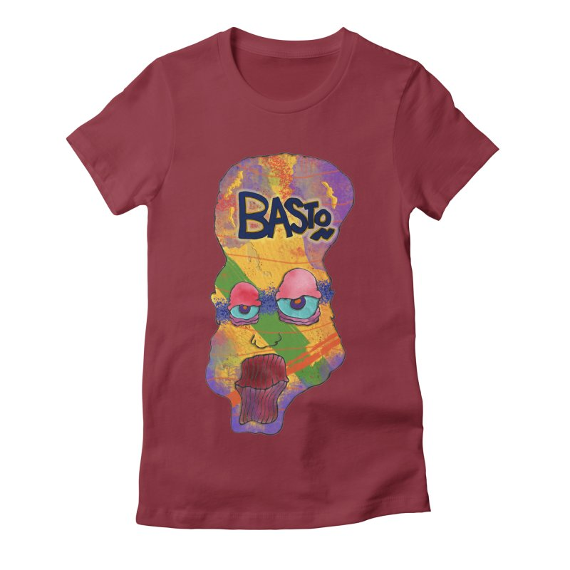 Big Head! Women's Fitted T-Shirt by Baston's T-Shirt Emporium!