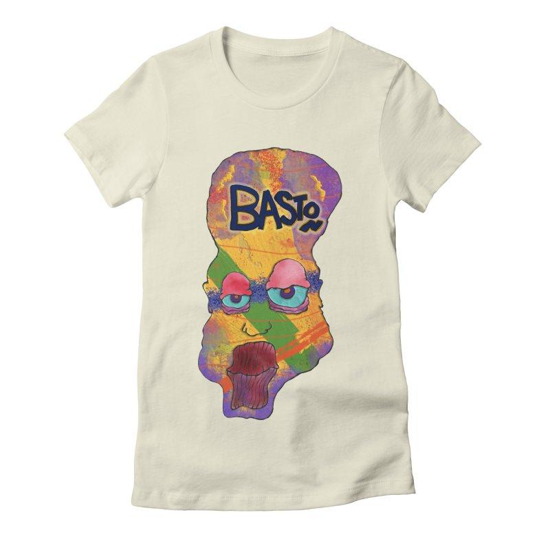Big Head! Women's Fitted T-Shirt by Baston's T-Shirt Emporium!