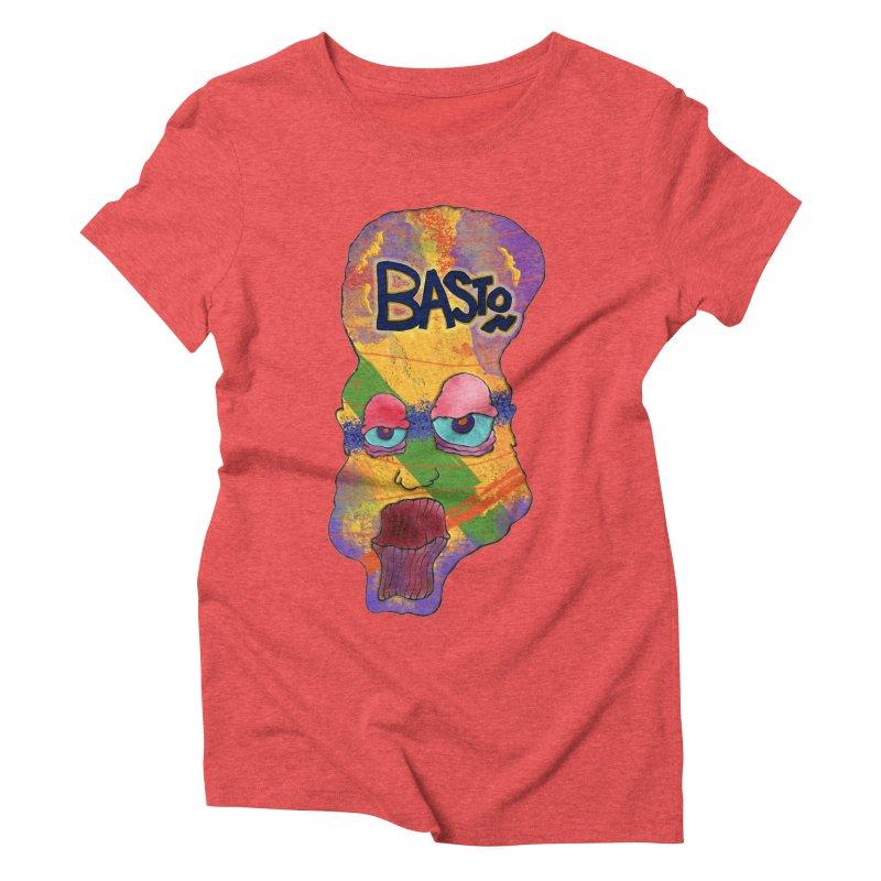 Big Head! Women's Triblend T-Shirt by Baston's T-Shirt Emporium!