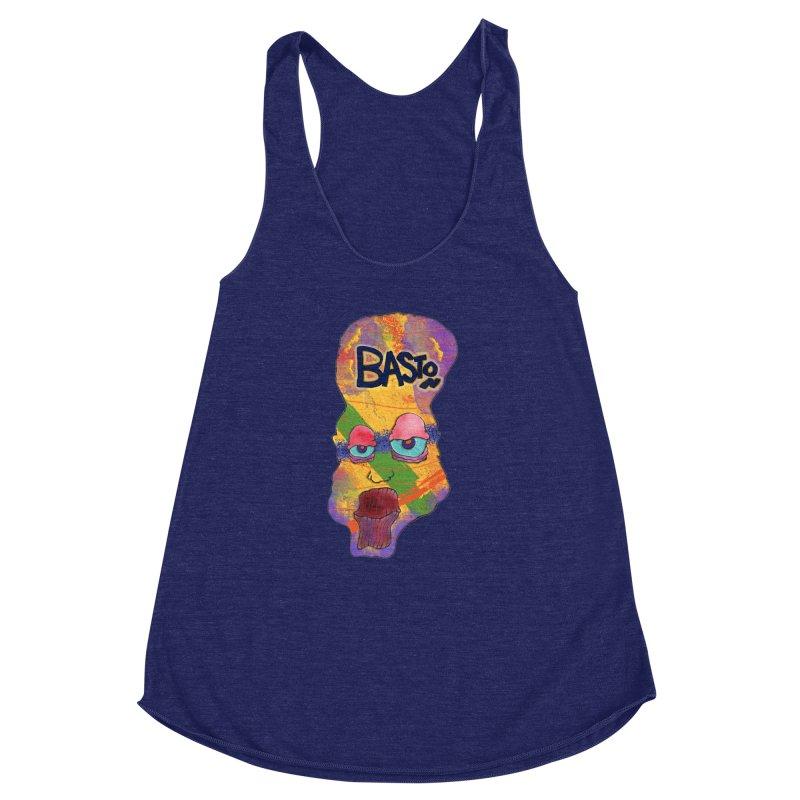 Big Head! Women's Racerback Triblend Tank by Baston's T-Shirt Emporium!