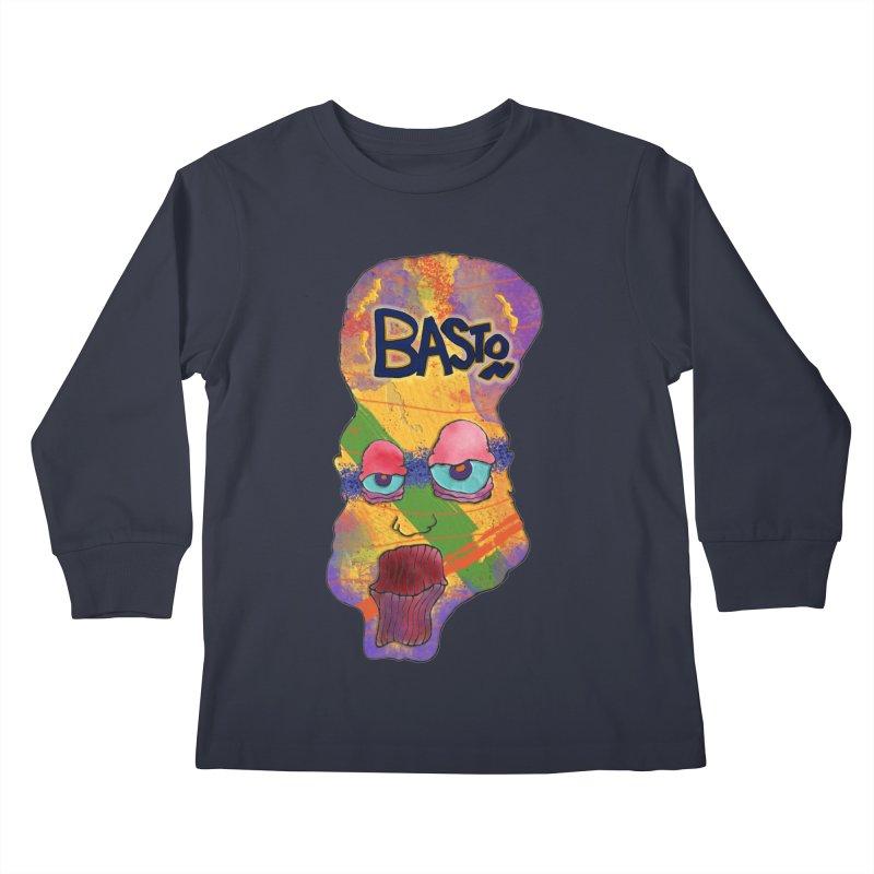 Big Head! Kids Longsleeve T-Shirt by Baston's T-Shirt Emporium!