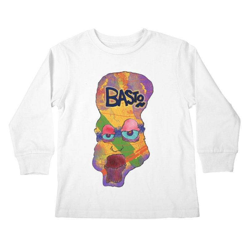 Big Head! Kids Longsleeve T-Shirt by Baston's T-Shirt Emporium!