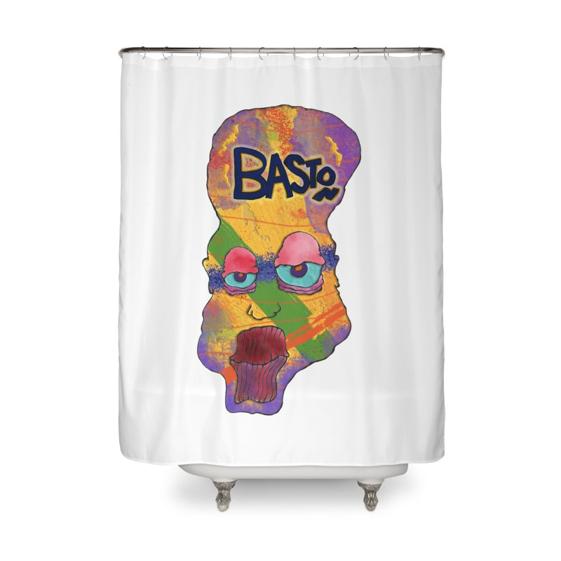 Big Head! Home Shower Curtain by Baston's T-Shirt Emporium!