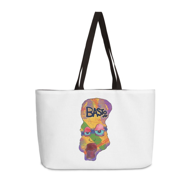 Big Head! Accessories Weekender Bag Bag by Baston's T-Shirt Emporium!