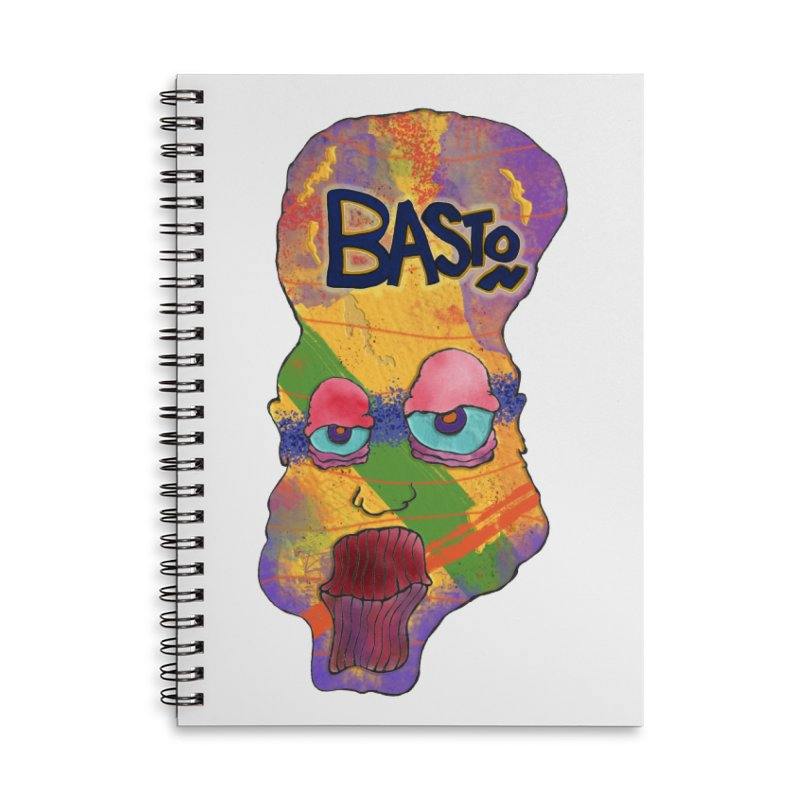 Big Head! Accessories Lined Spiral Notebook by Baston's T-Shirt Emporium!