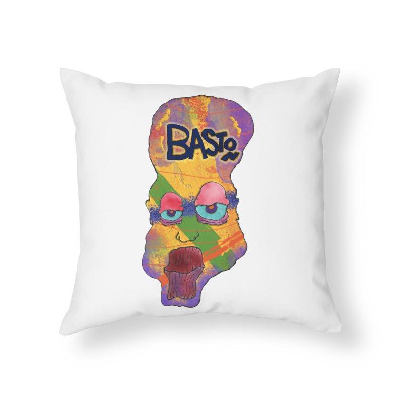Big Head! Home Throw Pillow by Baston's T-Shirt Emporium!