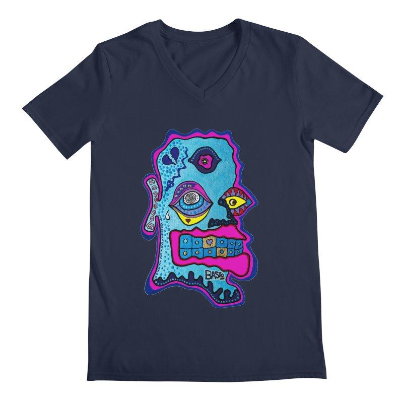 Baston De La Selva Men's Regular V-Neck by Baston's T-Shirt Emporium!