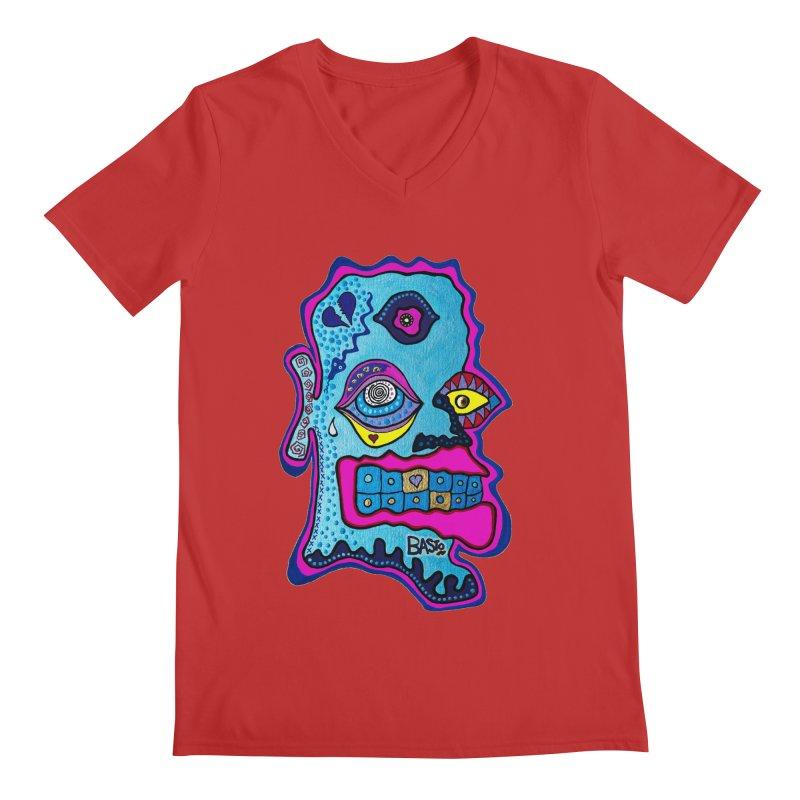 Baston De La Selva Men's V-Neck by Baston's T-Shirt Emporium!