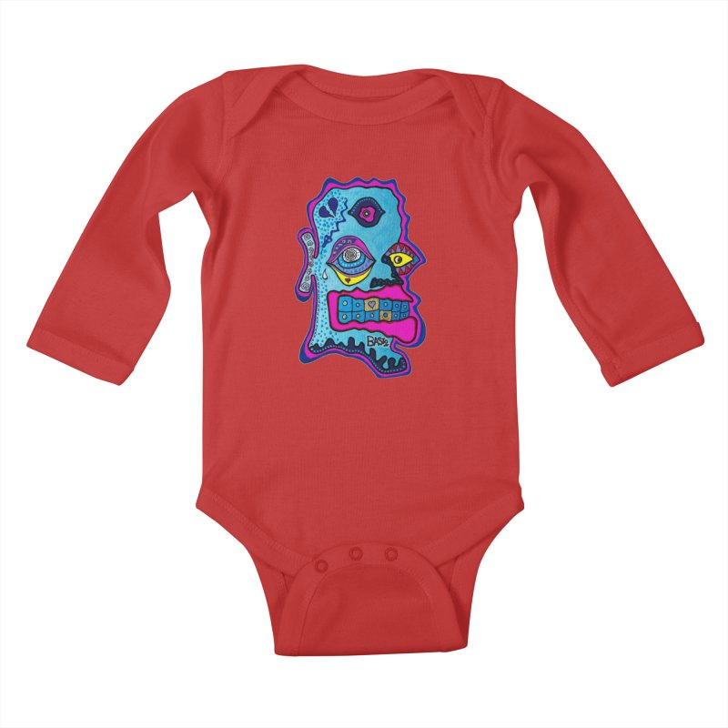 Baston De La Selva Kids Baby Longsleeve Bodysuit by Baston's T-Shirt Emporium!