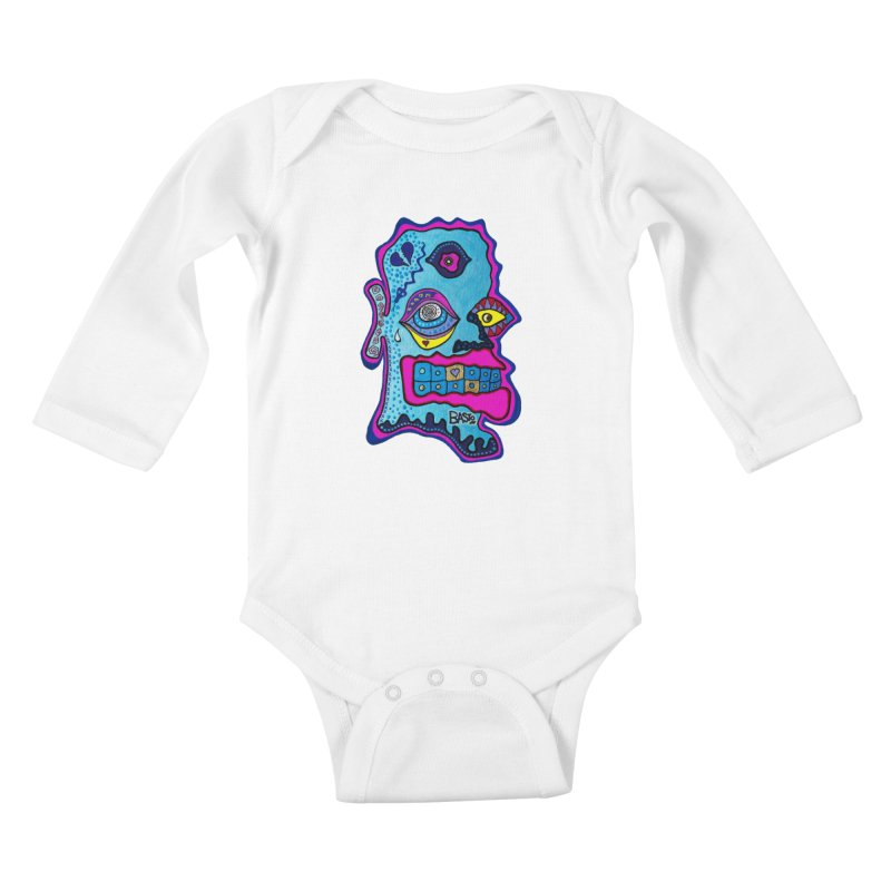 Baston De La Selva Kids Baby Longsleeve Bodysuit by Baston's T-Shirt Emporium!