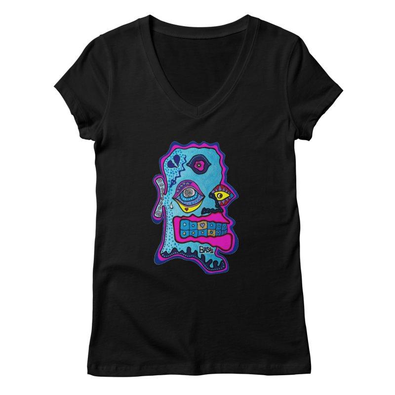 Baston De La Selva Women's V-Neck by Baston's T-Shirt Emporium!