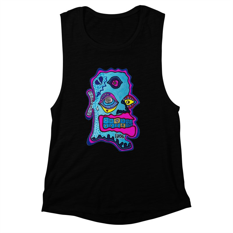 Baston De La Selva Women's Muscle Tank by Baston's T-Shirt Emporium!