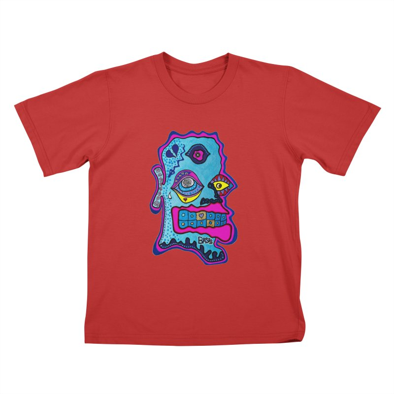 Baston De La Selva Kids T-Shirt by Baston's T-Shirt Emporium!