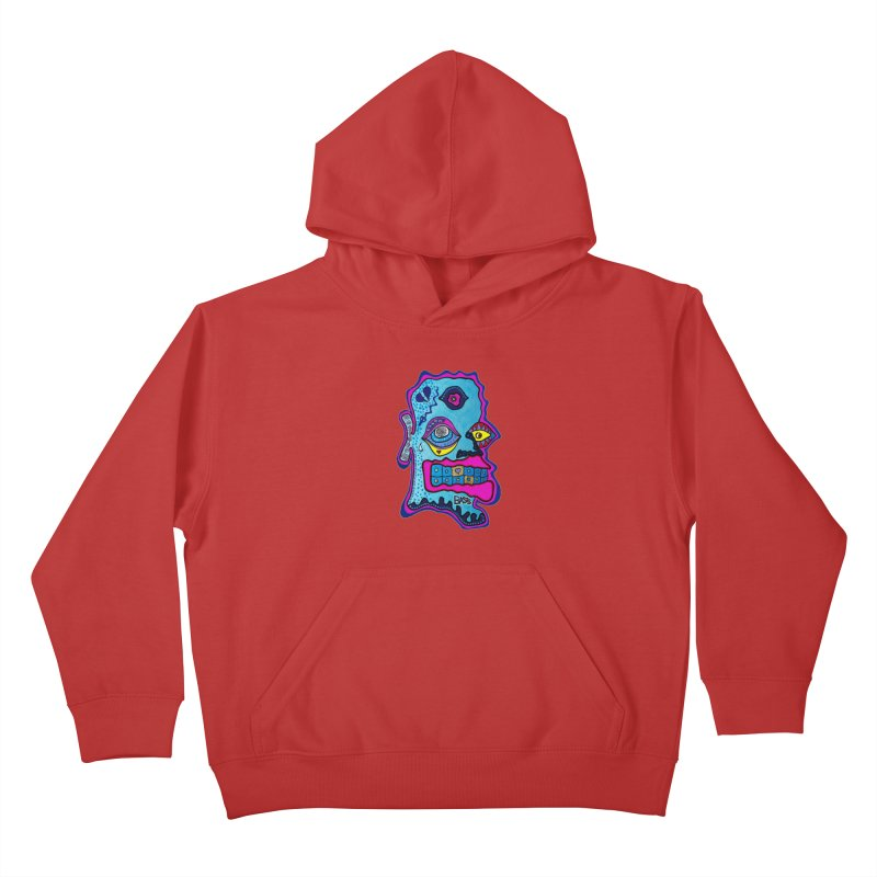 Baston De La Selva Kids Pullover Hoody by Baston's T-Shirt Emporium!