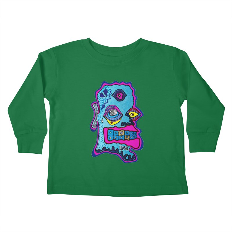 Baston De La Selva Kids Toddler Longsleeve T-Shirt by Baston's T-Shirt Emporium!