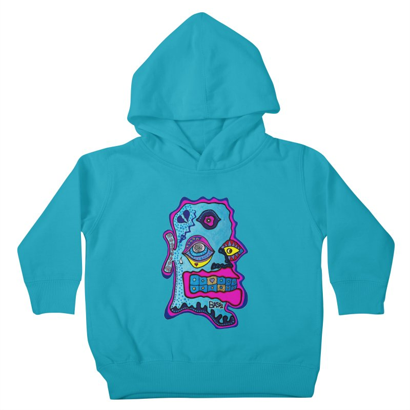 Baston De La Selva Kids Toddler Pullover Hoody by Baston's T-Shirt Emporium!