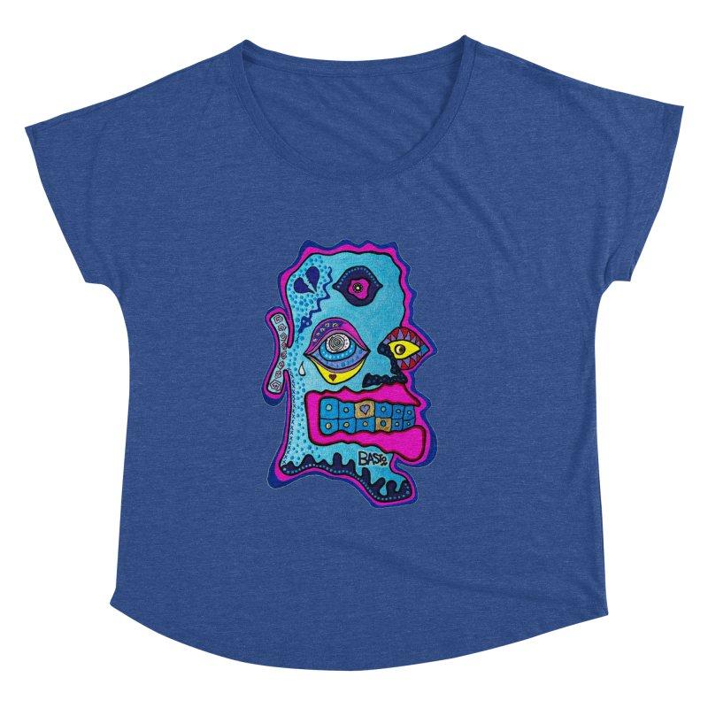 Baston De La Selva Women's Dolman Scoop Neck by Baston's T-Shirt Emporium!