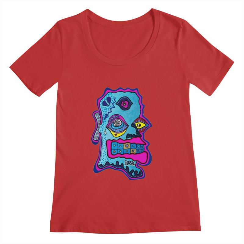 Baston De La Selva Women's Regular Scoop Neck by Baston's T-Shirt Emporium!