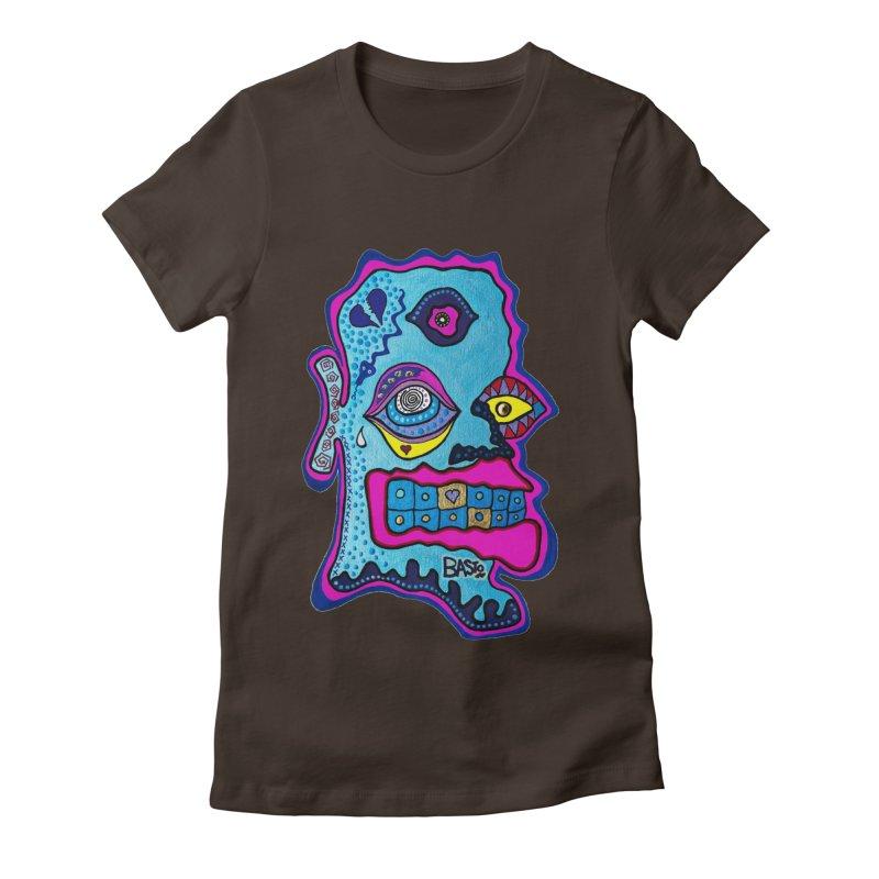 Baston De La Selva Women's Fitted T-Shirt by Baston's T-Shirt Emporium!