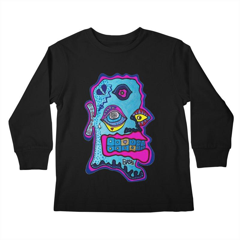 Baston De La Selva Kids Longsleeve T-Shirt by Baston's T-Shirt Emporium!