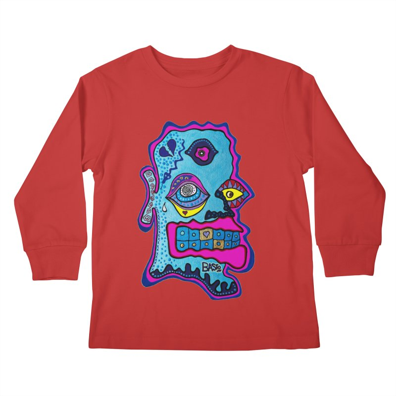 Baston De La Selva Kids Longsleeve T-Shirt by Baston's T-Shirt Emporium!