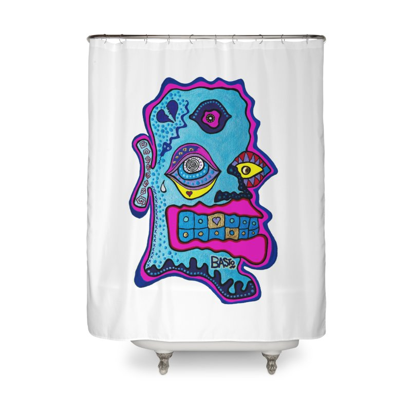 Baston De La Selva Home Shower Curtain by Baston's T-Shirt Emporium!