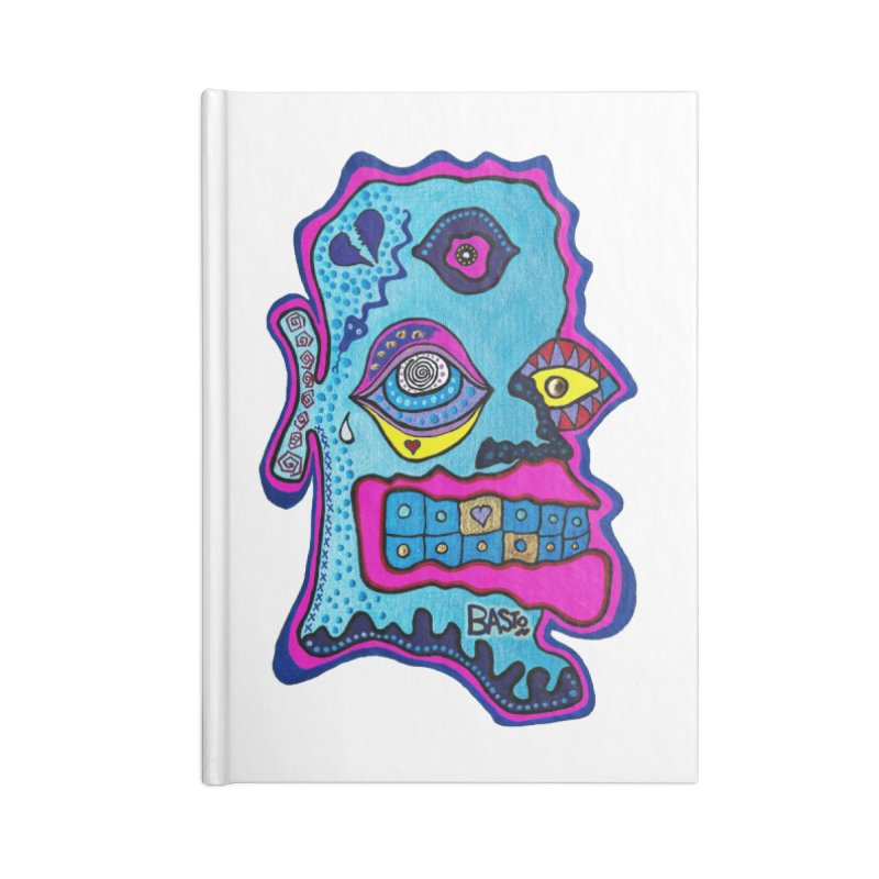 Baston De La Selva Accessories Lined Journal Notebook by Baston's T-Shirt Emporium!