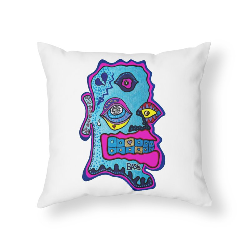 Baston De La Selva Home Throw Pillow by Baston's T-Shirt Emporium!