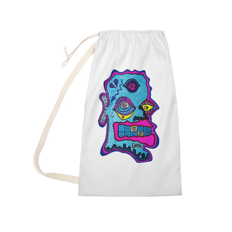 Baston De La Selva Accessories Laundry Bag Bag by Baston's T-Shirt Emporium!