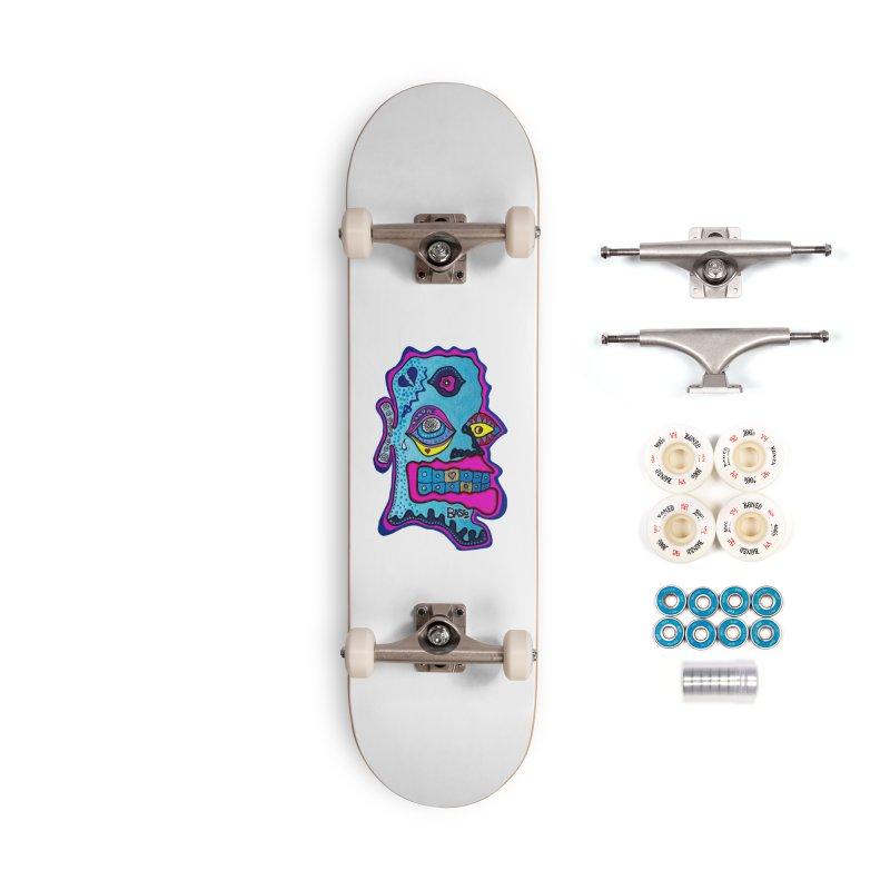 Baston De La Selva Accessories Complete - Premium Skateboard by Baston's T-Shirt Emporium!