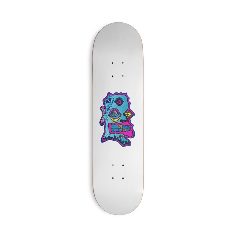 Baston De La Selva Accessories Deck Only Skateboard by Baston's T-Shirt Emporium!