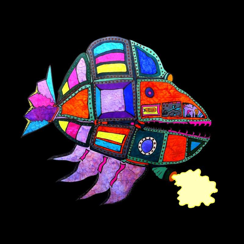 MECHANO FISH RAINBOW Men's T-Shirt by Baston's T-Shirt Emporium!