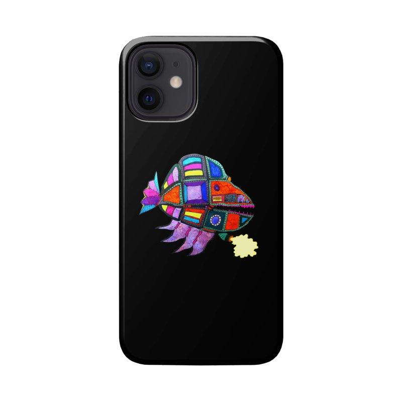 MECHANO FISH RAINBOW Accessories Phone Case by Baston's T-Shirt Emporium!