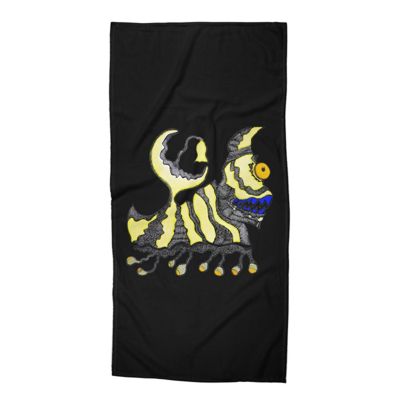 MOON DOGGIE! Accessories Beach Towel by Baston's T-Shirt Emporium!