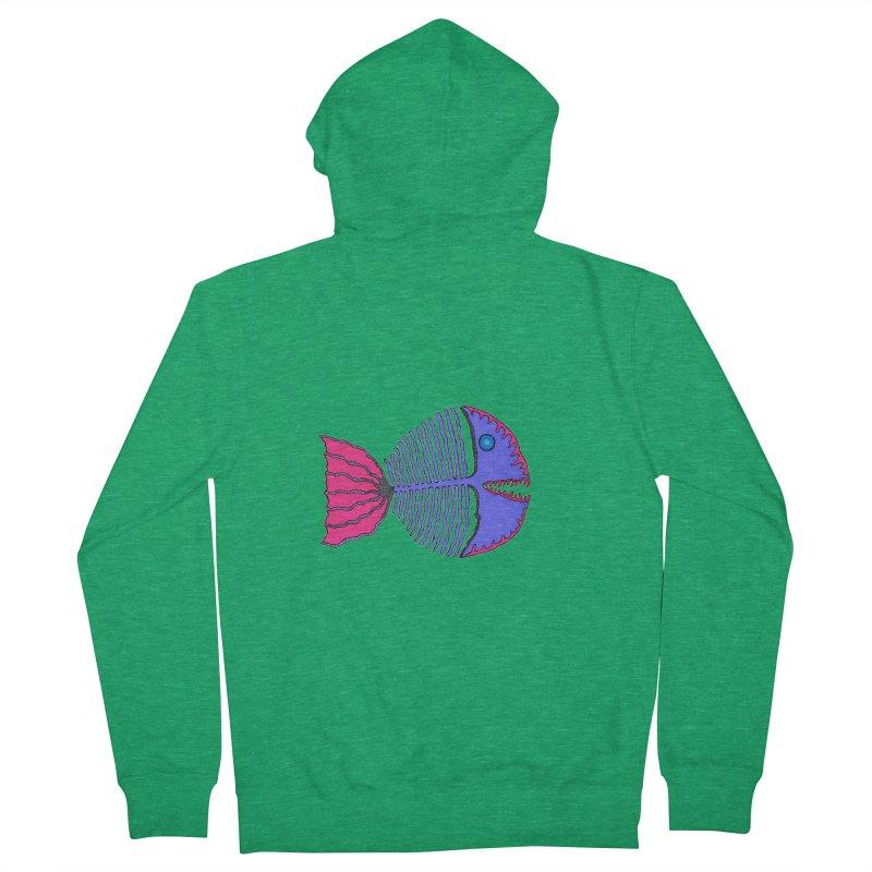 BoneFish Women's Zip-Up Hoody by Baston's T-Shirt Emporium!