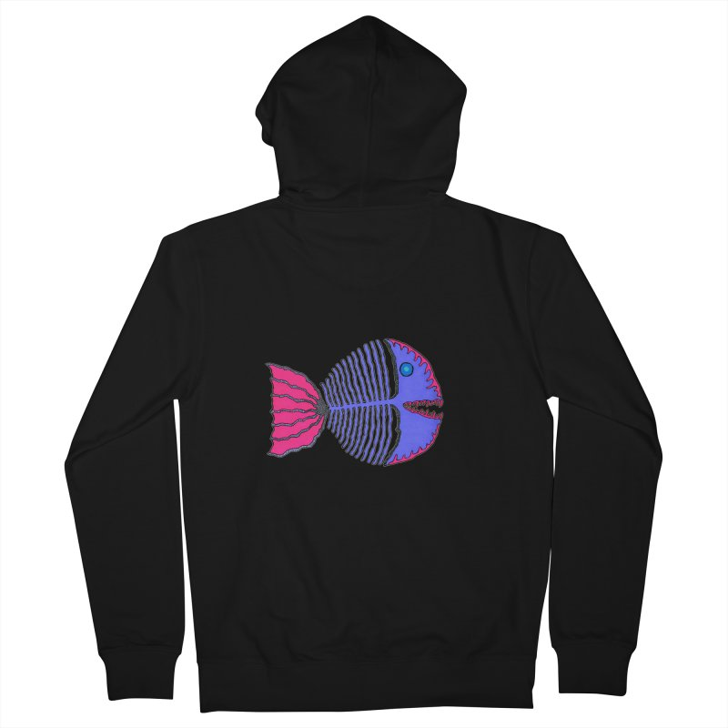 BoneFish Men's Zip-Up Hoody by Baston's T-Shirt Emporium!