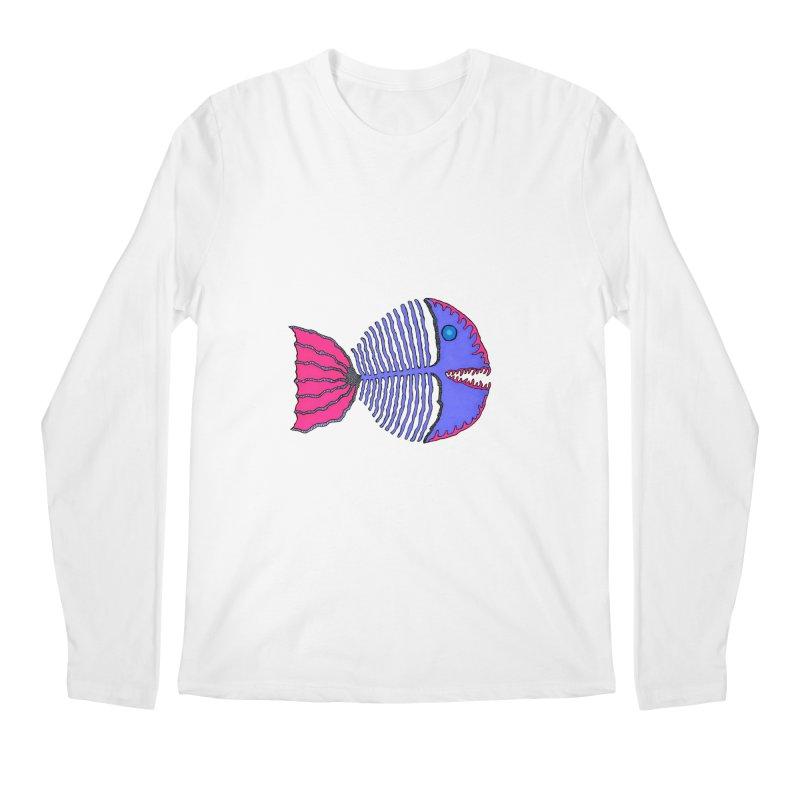 BoneFish Men's Longsleeve T-Shirt by Baston's T-Shirt Emporium!
