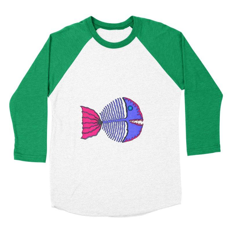 BoneFish Men's Baseball Triblend T-Shirt by Baston's T-Shirt Emporium!