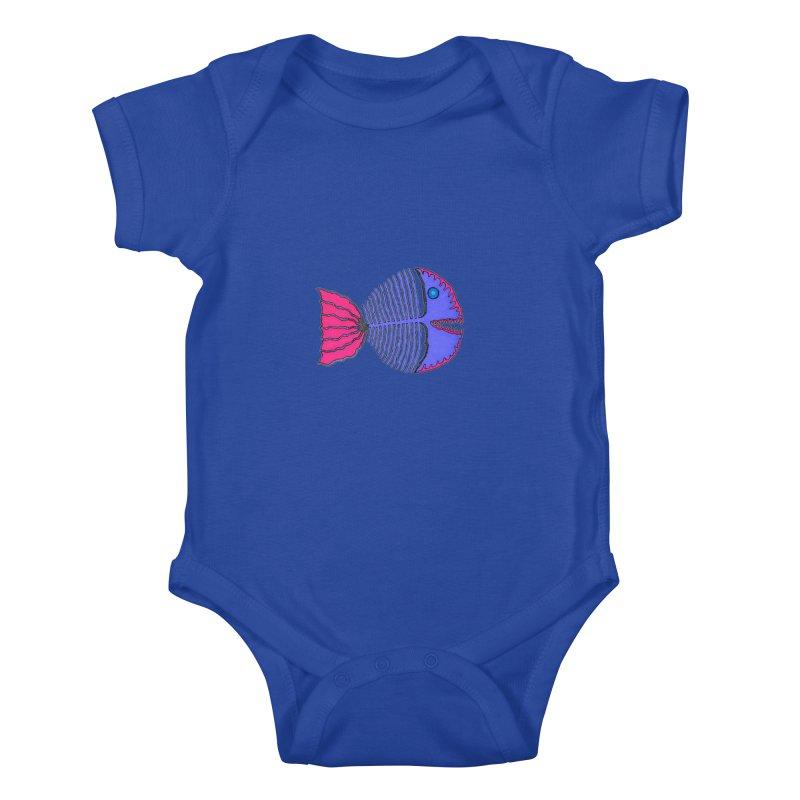 BoneFish Kids Baby Bodysuit by Baston's T-Shirt Emporium!