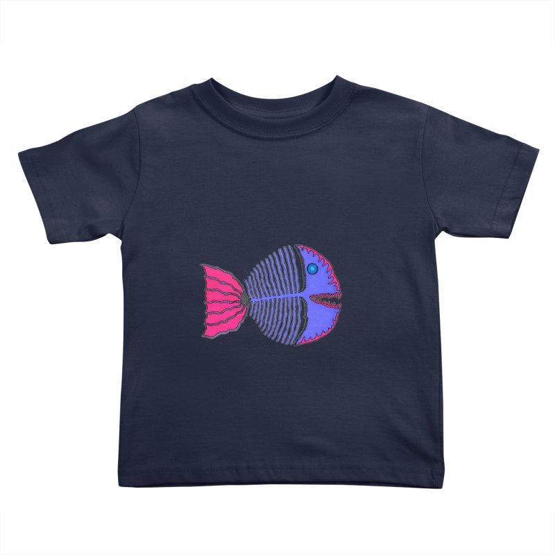 BoneFish Kids Toddler T-Shirt by Baston's T-Shirt Emporium!