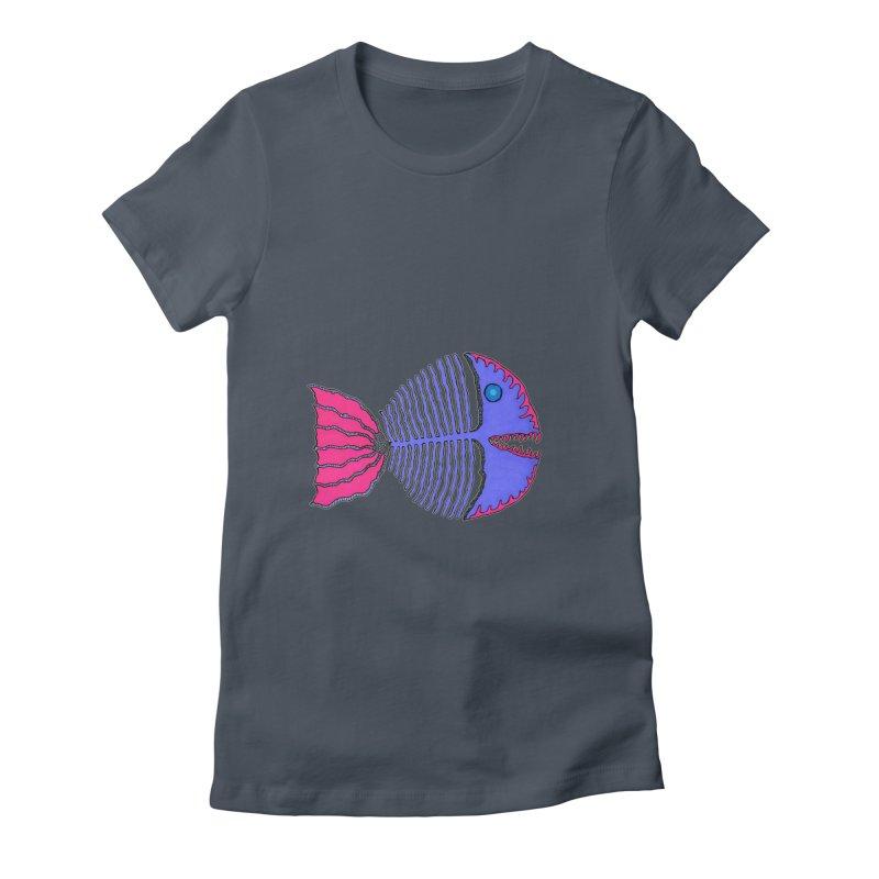 BoneFish Women's T-Shirt by Baston's T-Shirt Emporium!