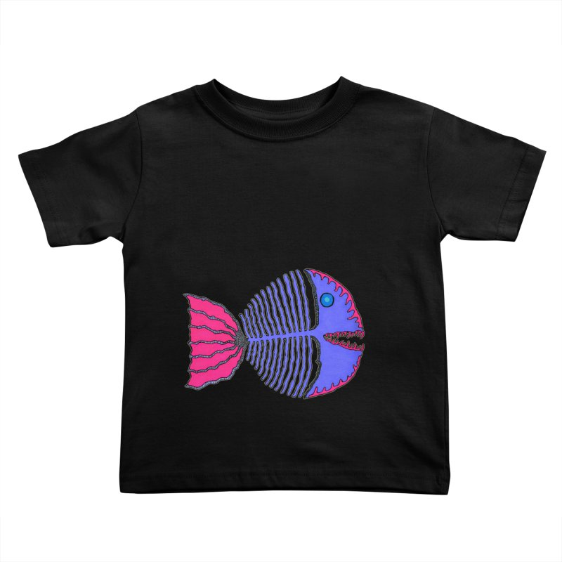 BoneFish Kids Toddler T-Shirt by Baston's T-Shirt Emporium!