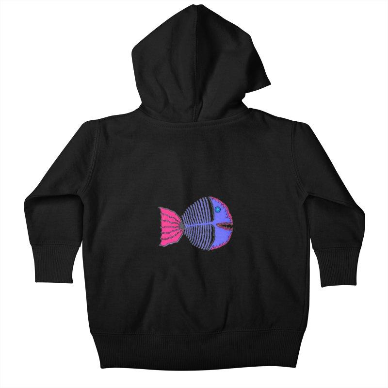 BoneFish Kids Baby Zip-Up Hoody by Baston's T-Shirt Emporium!