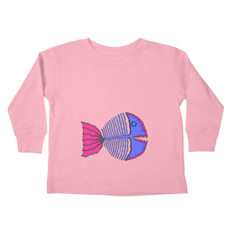 BoneFish Kids Toddler Longsleeve T-Shirt by Baston's T-Shirt Emporium!