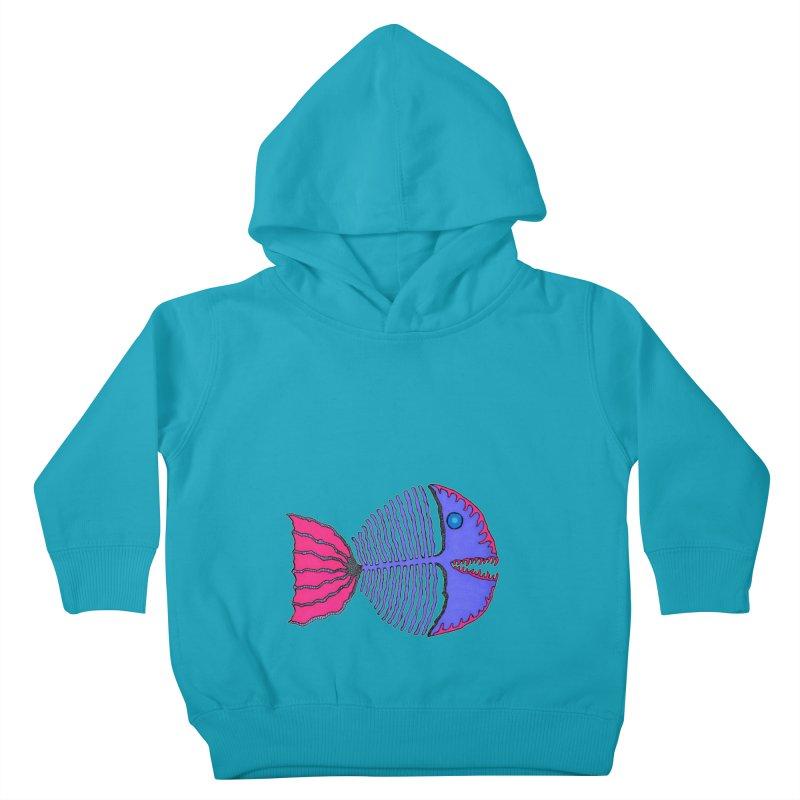BoneFish Kids Toddler Pullover Hoody by Baston's T-Shirt Emporium!