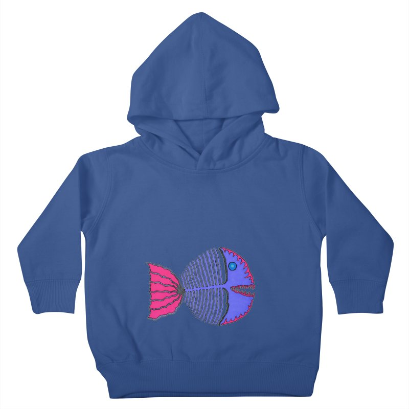 BoneFish Kids Toddler Pullover Hoody by Baston's T-Shirt Emporium!