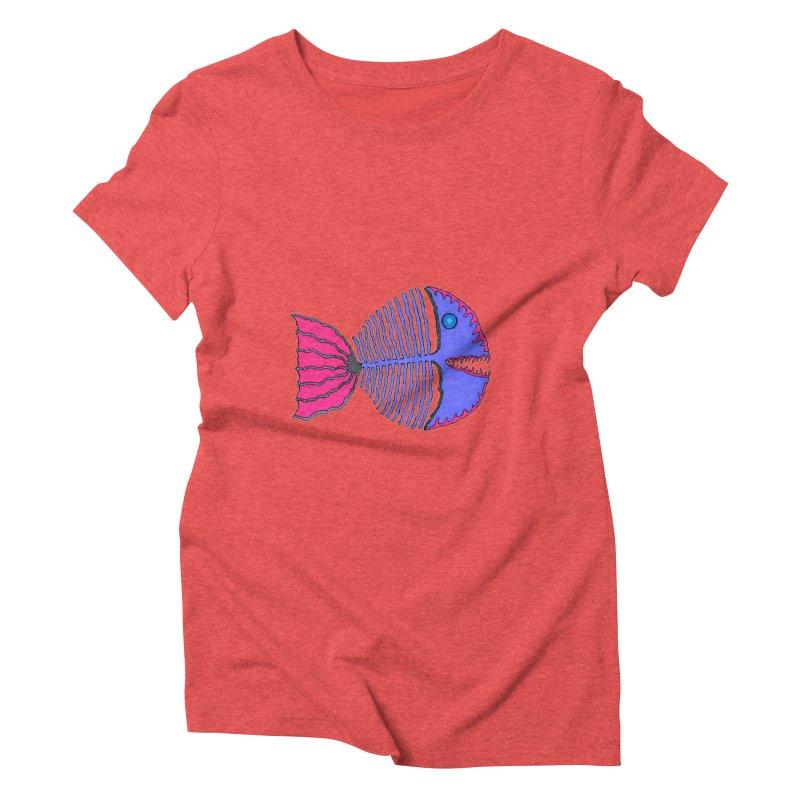 BoneFish Women's Triblend T-shirt by Baston's T-Shirt Emporium!