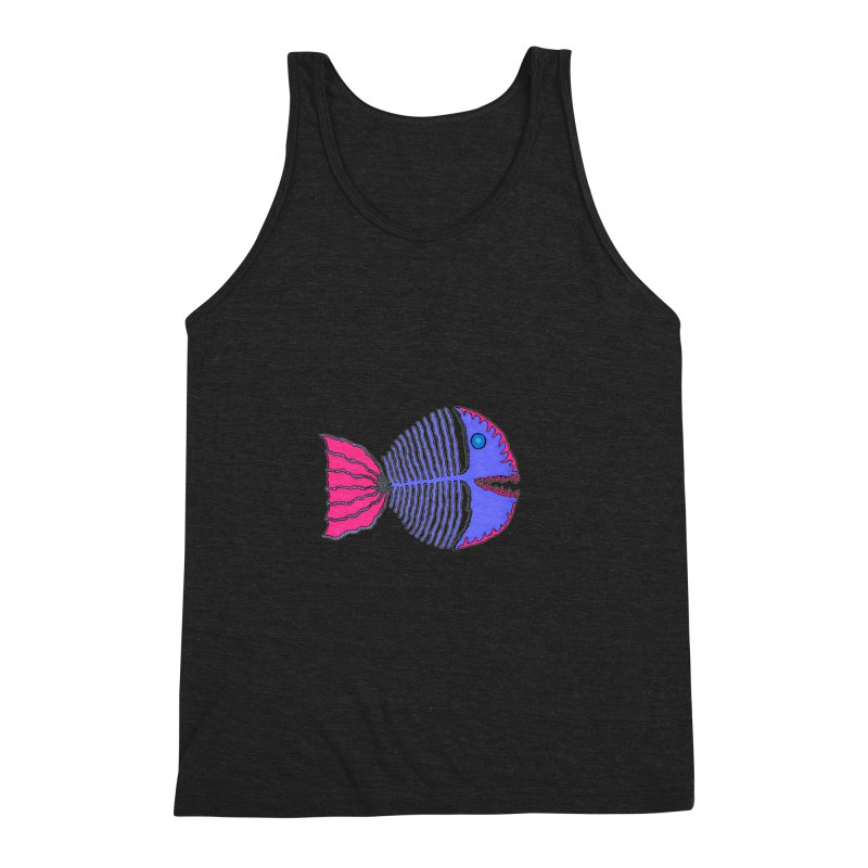 BoneFish Men's Triblend Tank by Baston's T-Shirt Emporium!